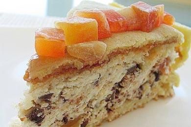 Новогодний торт рецепт с фото торт в